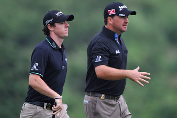 Rory McIlroy Graeme McDowell Omega Mission Hills World Cup - Day Two