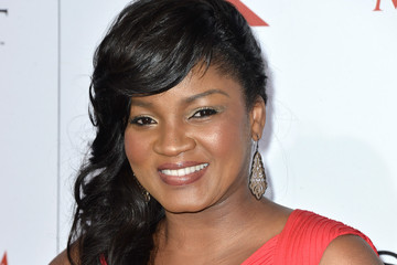 Omotola Jalade Ekeinde Celebs at the Maxim Hot 100 Party
