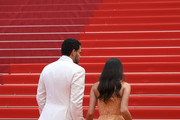 "Oliver RIpley and Sara Sampaio attend the screening of ""Once Upon A Time In Hollywood"" during the 72nd annual Cannes Film Festival on May 21, 2019 in Cannes, France."