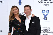 Holly Valance and Nick Candy attend the One For The Boys charity ball during the London Collections: Men SS15 on June 15, 2014 in London, England.