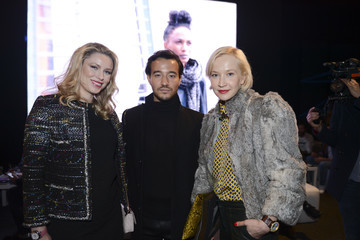 Oona Chanel VIP Guests Day 3 - Mercedes-Benz Fashion Week Istanbul Autumn/Winter 2016