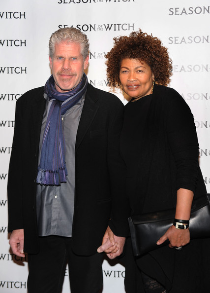 "Opal Perlman Ron Perlman (L) and Opal Perlman attend Relativity Media's premiere of ""Season of the Witch"" at AMC Lincoln Square Theater on January 4, 2011 in New York City."
