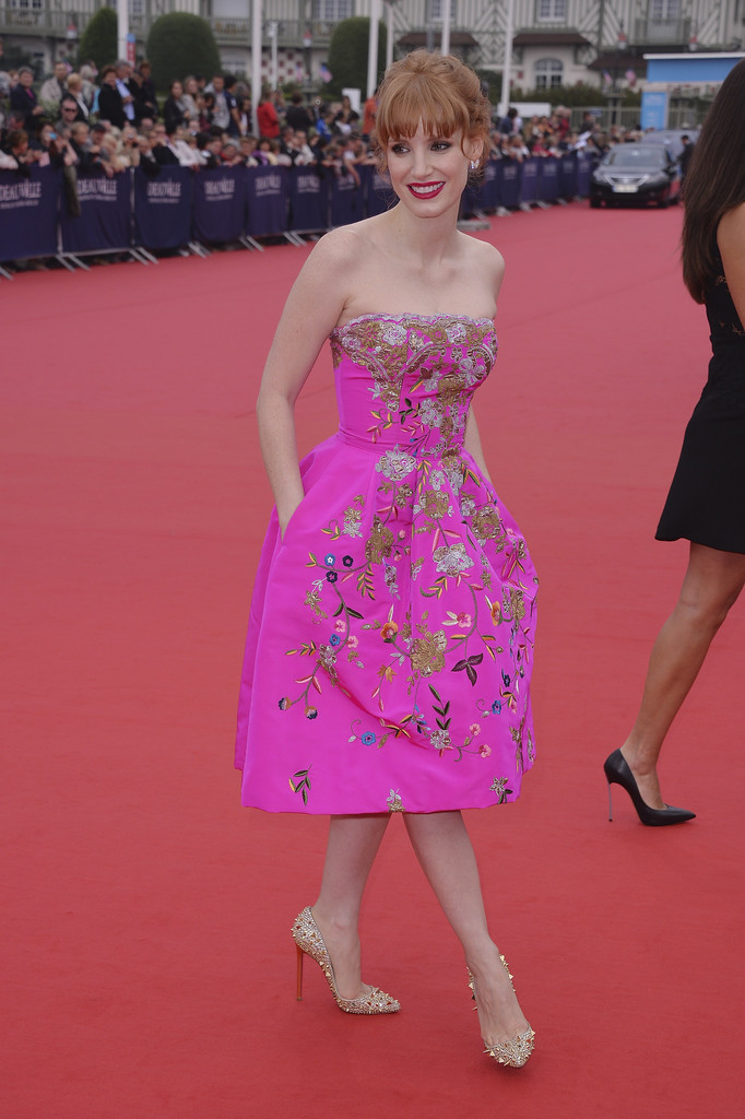 Jessica Chastain's Most Incredible Red Carpet Dresses