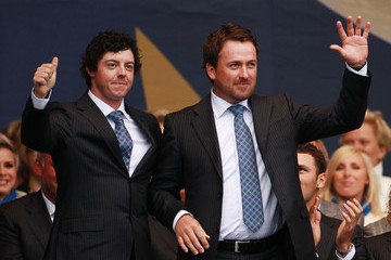 Rory McIlroy Graeme McDowell Opening Ceremony-2010 Ryder Cup
