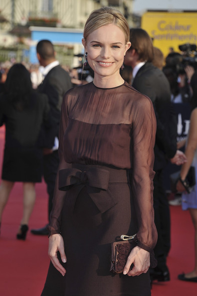 Kate Bosworth arrives at the opening ceremony of the 37th Deauville American Film Festival on September 2, 2011 in Deauville, France.