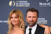 Ingrid Chauvin and Alexandre Brasseur attend the opening ceremony of the 58th Monte Carlo TV Festival on June 15, 2018 in Monte-Carlo, Monaco.
