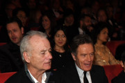 Bill Murray (L) and Bryan Cranston are seen at the Opening Ceremony & 'Isle of Dogs' premiere during the 68th Berlinale International Film Festival Berlin at Berlinale Palace on February 15, 2018 in Berlin, Germany.
