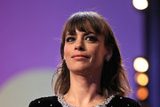 """Member of the International Jury Berenice Bejo is seen on stage at the opening ceremony and """"My Salinger Year"""" premiere during the 70th Berlinale International Film Festival Berlin at Berlinale Palace on February 20, 2020 in Berlin, Germany."""