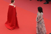 Julianne Moore and  Isabelle Adjani attend the Opening Ceremony during the 71st annual Cannes Film Festival at Palais des Festivals on May 8, 2018 in Cannes, France.