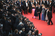 (2ndL-R) Actors Jeanne Balibar, Tim Roth, Nicole Kidman, director Olivier Dahan, actress Paz Vega, Pierre-Ange Le Pogam and screenwriter and Producer Arash Amel attend the Opening ceremony and the 'Grace of Monaco' Premiere during the 67th Annual Cannes Film Festival on May 14, 2014 in Cannes, France.