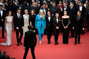 (L-R) Official Selection Jury members Carole Bouquet, Nicolas Winding Refn, Leila Hatami, Sofia Coppola, Jane Campion, Gael Garcia Bernal,  Zhangke Jia, Do-yeon Jeon and Willem Dafoe attend the Opening ceremony and the 'Grace of Monaco' Premiere during the 67th Annual Cannes Film Festival on May 14, 2014 in Cannes, France.