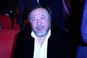 """Chinese artist Ai Weiwei attends the opening of the Berlinale film festival with the premiere of """"Django"""" during the 67th Berlinale film festival in Berlin on February 9, 2017. / AFP / Tobias SCHWARZ"""