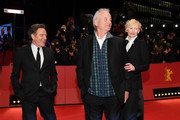 Bryan Cranston, Bill Murray and Tilda Swinton attend the Opening Ceremony & 'Isle of Dogs' premiere during the 68th Berlinale International Film Festival Berlin at Berlinale Palace on February 15, 2018 in Berlin, Germany.