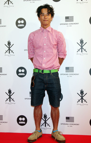 Japanese actor Kenji Kohashi attends the 'Opening Ceremony' Japan flagship store opening reception party on August 29, 2009 in Tokyo, Japan. Opening Ceremony will open its first store in Tokyo's fashion district Shibuya on August 30.