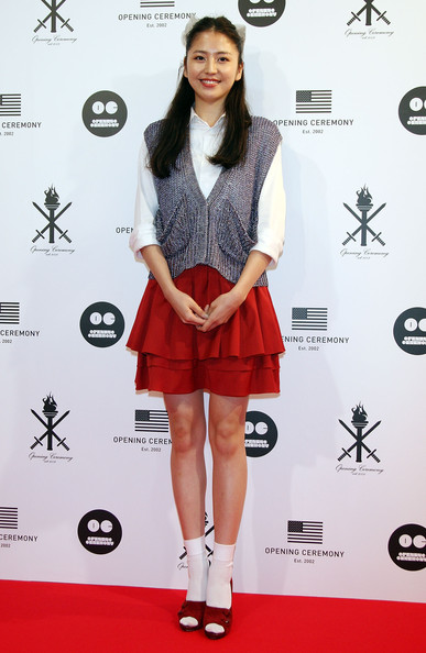 Japanese actress Masami Nagasawa attends the 'Opening Ceremony' Japan flagship store opening reception party on August 29, 2009 in Tokyo, Japan. Opening Ceremony will open its first store in Tokyo's fashion district Shibuya on August 30.