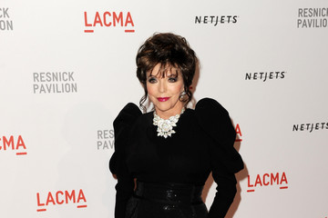 """Joan Collins Opening Gala And """"Unmasking"""" For The Resnick Pavilion At LACMA - Arrivals"""