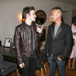 Cliff Fong and Chris Colfer