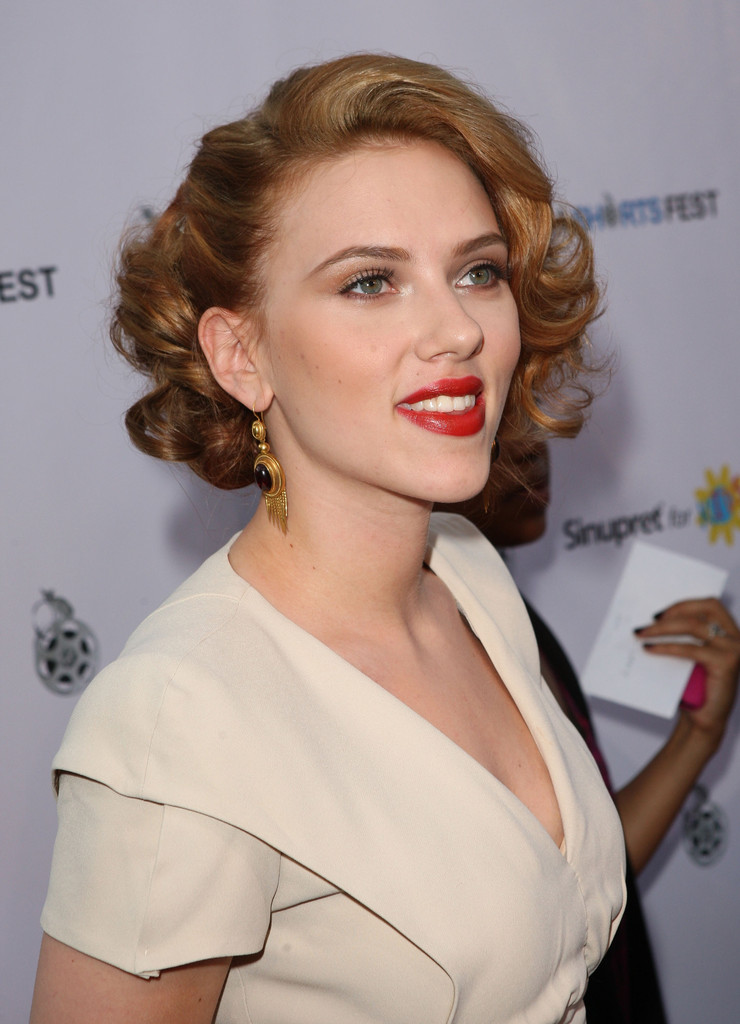 Scarlett Johansson In Opening Night Of LA Shorts Fest '09