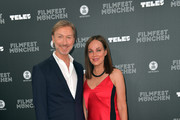 Didier Duvall and  Sonja Kirchberger during the opening night of the Munich Film Festival 2019 at Mathaeser Filmpalast on June 27, 2019 in Munich, Germany.