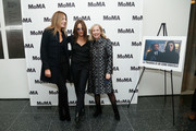 (L-R) Camilla Cormanni, director Maria Sole Tognazzi and Sally Fischer attend the opening night of The Museum of Modern Art and Luce Cinecitta's Ugo Tognazzi: Tragedies of a Ridiculous Man Retrospective at MoMA on December 5, 2018 in New York City.