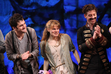 Adam Chanler-Berat Opening Night Of Peter And The Starcatcher On Broadway - Arrivals And Curtain Call