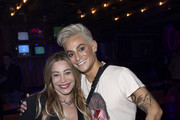 "Taylor Dayne and Frankie Grande attend Opening Night Of ""Rock Of Ages"" Hollywood At The Bourbon Room at The Bourbon Room on January 15, 2020 in Hollywood, California."