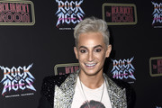 "Frankie Grande attends Opening Night Of ""Rock Of Ages"" Hollywood at The Bourbon Room on January 15, 2020 in Hollywood, California."
