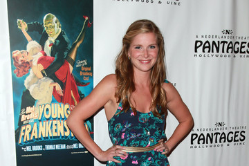 "Molly Beucher Opening Night Of ""Young Frankenstein"" At The Pantages Theatre - Red Carpet"