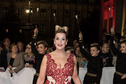 Alexa Maria Surholt attends the Opera Ball Leipzig at Opernhaus on October 18, 2014 in Leipzig, Germany.