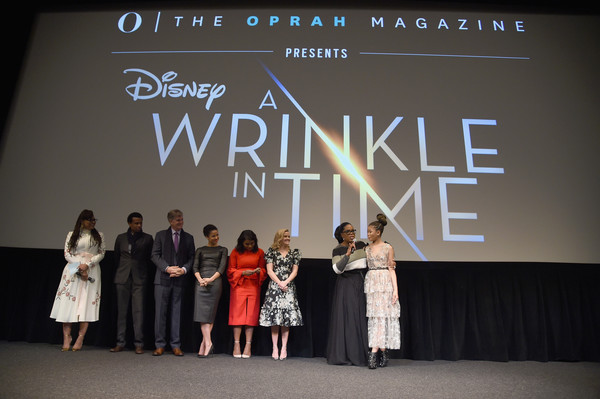 """O, The Oprah Magazine Hosts Special NYC Screening Of """"A Wrinkle In Time"""" At Walter Reade Theater"""