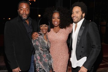 Oprah Winfrey Lee Daniels Celebs at 'The Butler' Afterparty