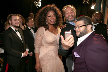 Oprah Winfrey Behind the Scenes at the Oscars