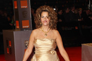 (UK TABLOID NEWSPAPERS OUT) Tracy Emin arrives at the Orange British Academy Film Awards 2011 held at The Royal Opera House on February 13, 2011 in London, England.