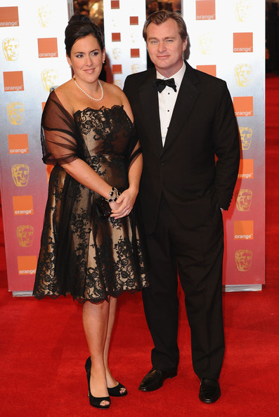 Emma Thomas and Christopher Nolan arrive for the Orange British Academy Film Awards at The Royal Opera House on February 13, 2011 in London, England.