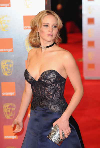 Actress Jennifer Lawrence arrives for the Orange British Academy Film Awards at The Royal Opera House on February 13, 2011 in London, England.