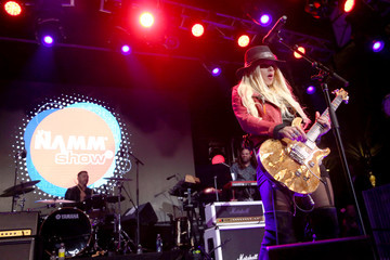 Orianthi The 2017 NAMM Show Opening Day