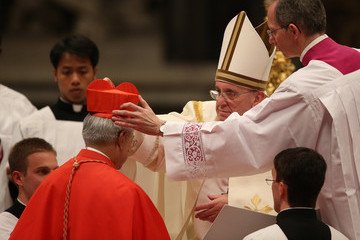 Orlando B Quevedo Pope Francis Appoints 19 New Cardinals at St. Peter's Basilica