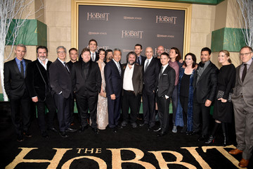 Orlando Bloom Philippa Boyens 'The Hobbit: The Battle of the Five Armies' Premieres in Hollywood — Part 2