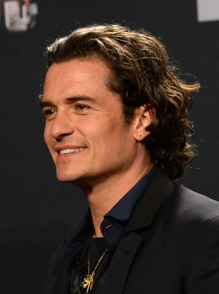 Orlando Bloom Pictures - Press Room at the MTV Movie ... Orlando Bloom Movies