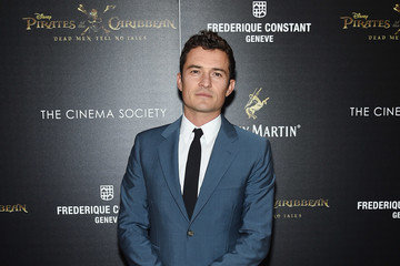 Orlando Bloom The Cinema Society Hosts a Screening of 'Pirates Of The Caribbean: Dead Men Tell No Tales'