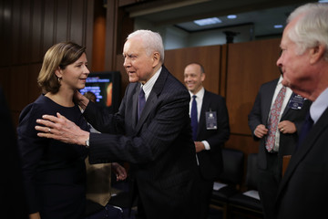 Orrin Hatch Senate Holds Confirmation Hearing For Brett Kavanugh To Be Supreme Court Justice