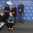 Orwa Nyrabia International Panel On Afghanistan And The Situation Of Afghan Filmmakers And Artists Photocall - The 78th Venice International Film Festival