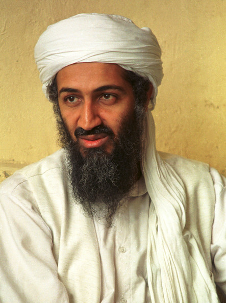 "Osama bin Laden 395617 01: (FILE PHOTO) Saudi dissident Osama bin Laden in an undated photo. October 10, 2001. Afghanistan's ruling Taliban lifted restrictions on Bin Laden, giving him permission to conduct ""Jihad,"" or holy war, against Afghanistan's enemies."