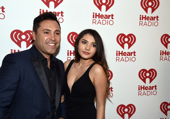 Photo of Oscar de la Hoya & his  Sister   Ceci De La Hoya