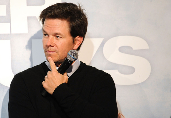 marky mark wahlberg. Mark Wahlberg speaks at the