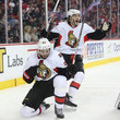 Mike Hoffman and Mika Zibanejad Photos