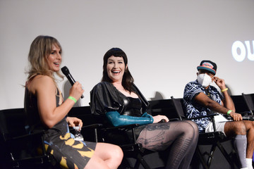 Our Lady J Zackary Drucker Outfest Los Angeles LGBTQ Film Festival's 5th Annual Trans & Nonbinary Summit