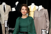 Maggie Gyllenhaal attends Ovarian Cancer Research Alliance Presents Style Lab hosted by Maggie Gyllenhaal & Kate Mara at Gotham Hall NYC on November 06, 2019 in New York City.