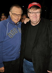 "Larry King Overture Films' LA Premiere of ""Capitalism: A Love Story"" - Red Carpet"