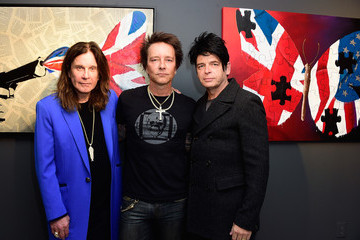Ozzy Osbourne Billy Morrison VIP Opening Reception For 'Dis-Ease' - An Evening of Fine Art With Billy Morrison